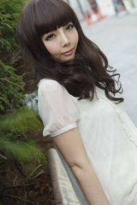 商品撮影モデル咲本弥生