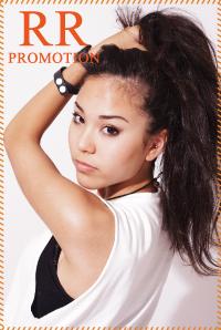 モデル商品撮影ページ画像
