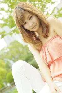 莉歩 商品撮影モデル3