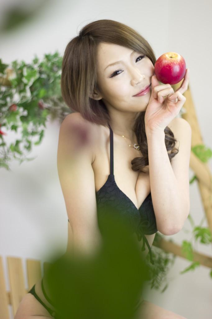 撮影モデル柚木ゆり